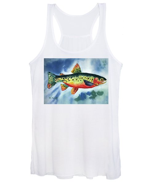 Trout Women's Tank Top