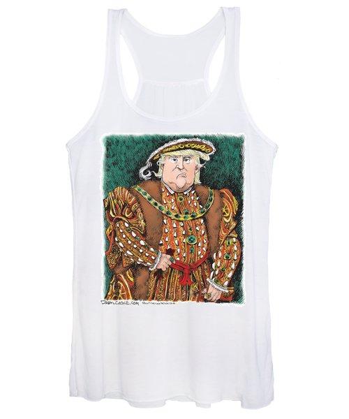 Trump As King Henry Viii Women's Tank Top