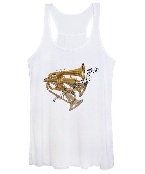 Trumpet Fanfare Women's Tank Top