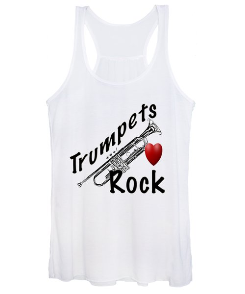 Trumpets Rock Women's Tank Top