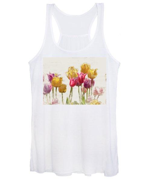 Tulipe Women's Tank Top