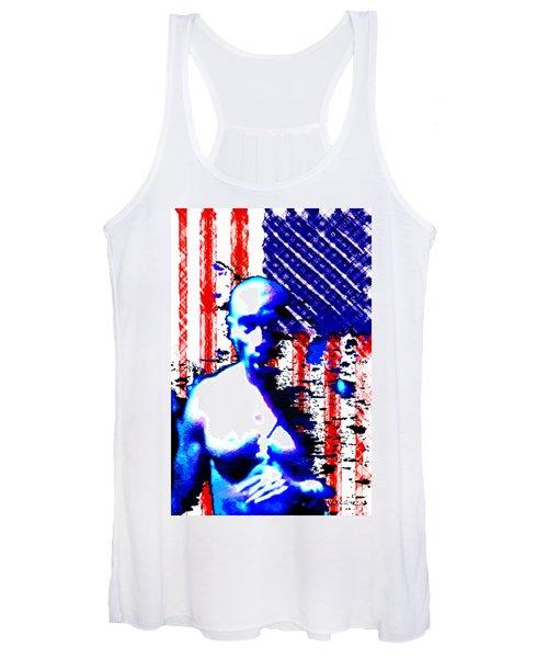 Tupac N America Women's Tank Top