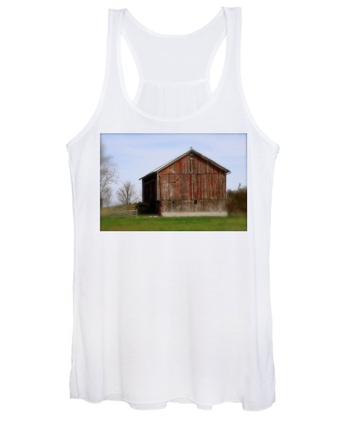 Turkey Vultures Hovering Around The Barn Women's Tank Top
