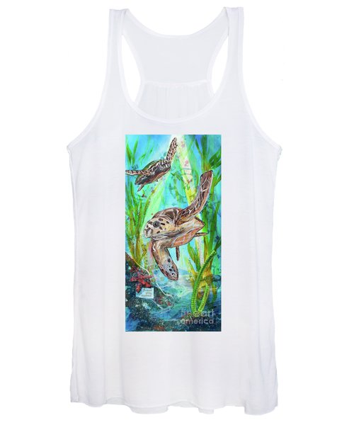 Turtle Cove Women's Tank Top