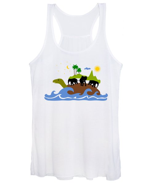 Turtles All The Way Down Women's Tank Top