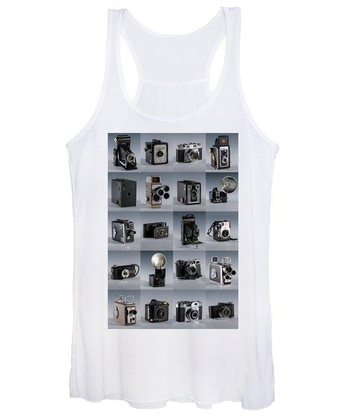 Twenty Old Cameras - Color Women's Tank Top