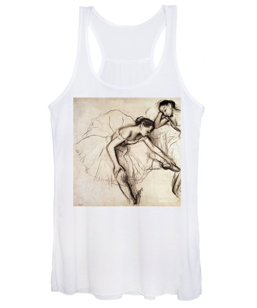 Two Dancers Resting Women's Tank Top