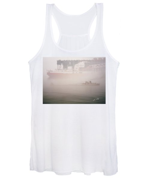 Two Harbors Fog Ship II Women's Tank Top