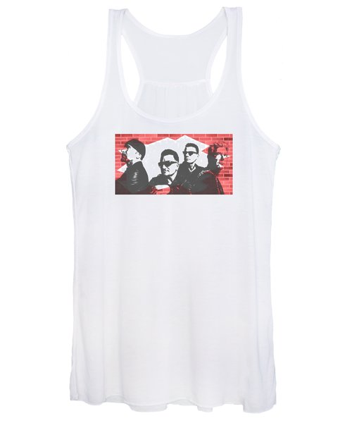 U2 Graffiti Tribute Women's Tank Top