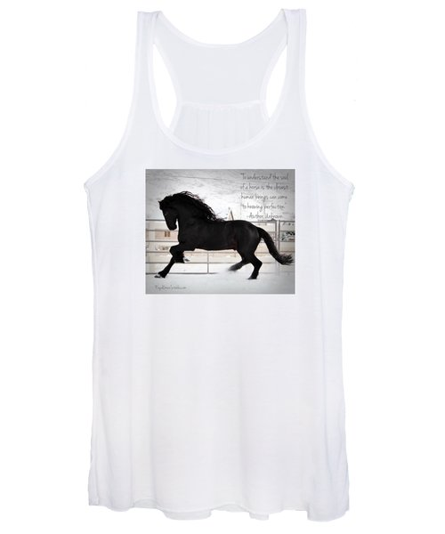 Understand The Soul Of A Horse Women's Tank Top