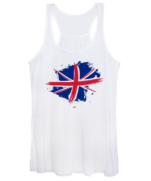 Union Jack - Flag Of The United Kingdom Women's Tank Top