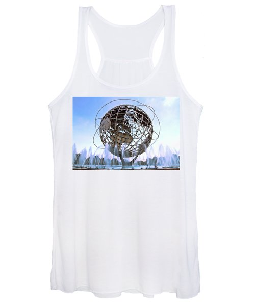 Unisphere With Fountains Women's Tank Top