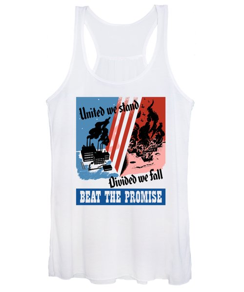 United We Stand Divided We Fall Women's Tank Top