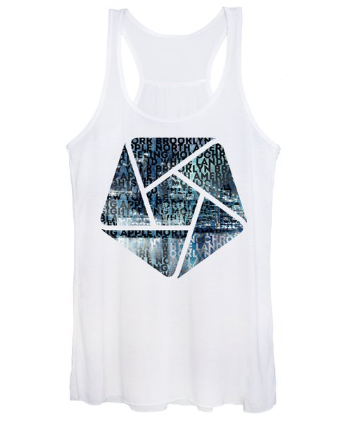 Urban-art Nyc Brooklyn Bridge I Women's Tank Top