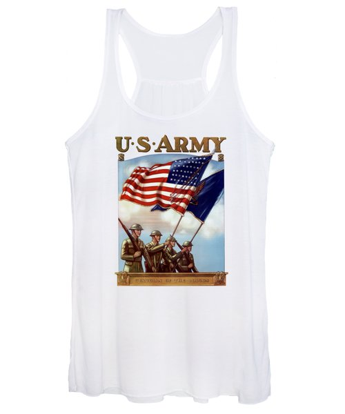 Us Army -- Guardian Of The Colors Women's Tank Top