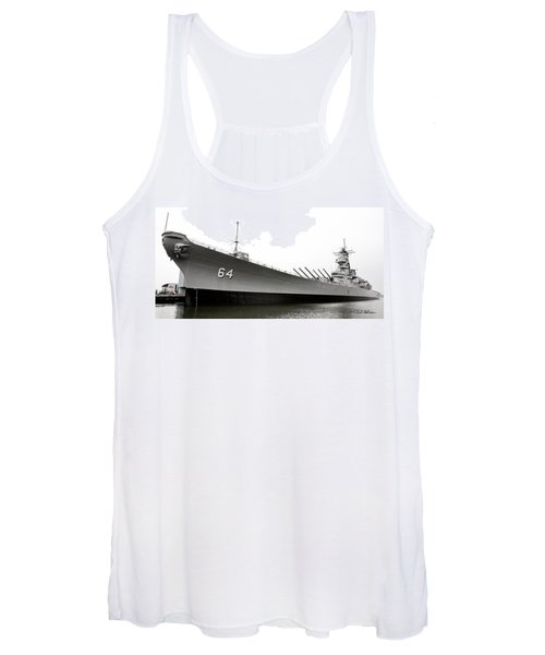Uss Wisconsin - Port-side Women's Tank Top