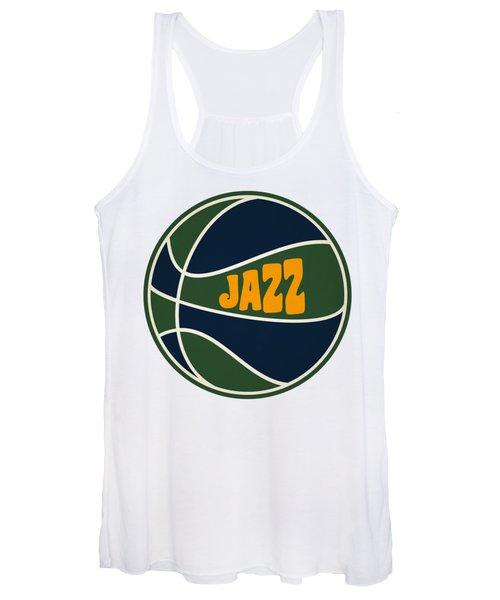 Utah Jazz Retro Shirt Women's Tank Top