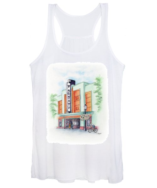 Varsity On Main Women's Tank Top
