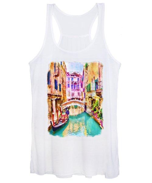 Venice Canal 2 Women's Tank Top
