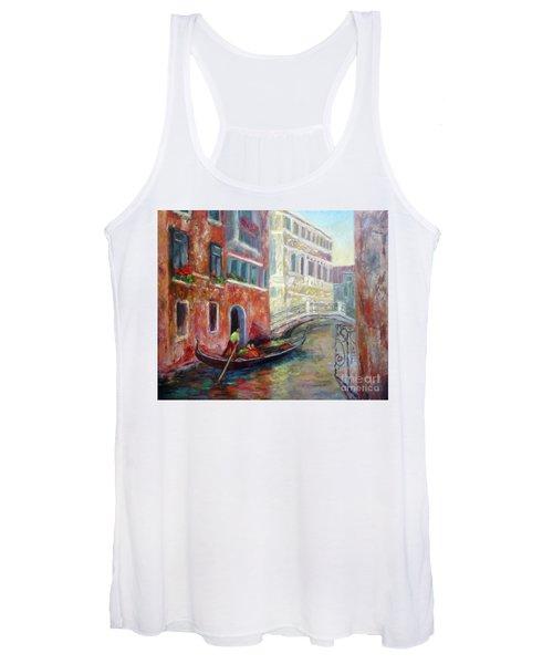 Venice Gondola Ride Women's Tank Top