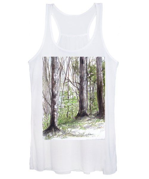 Vermont Woods Women's Tank Top