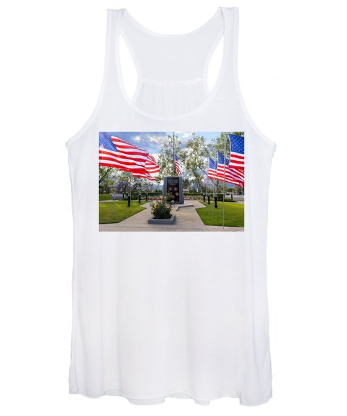 Veterans Monument Camarillo California Usa Women's Tank Top