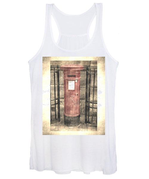Victorian Red Post Box Women's Tank Top