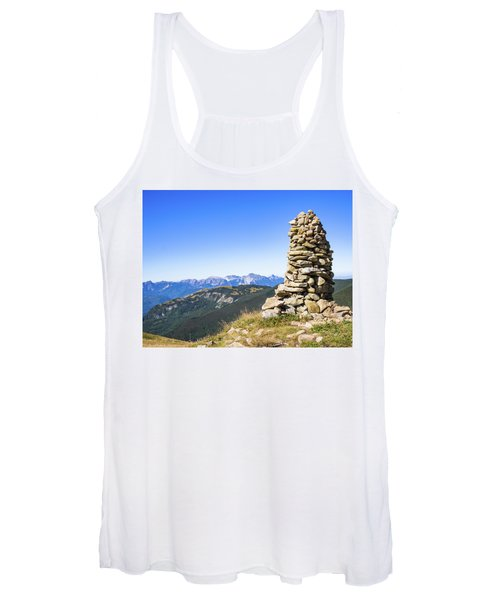 View Of The Apuan Alps Women's Tank Top