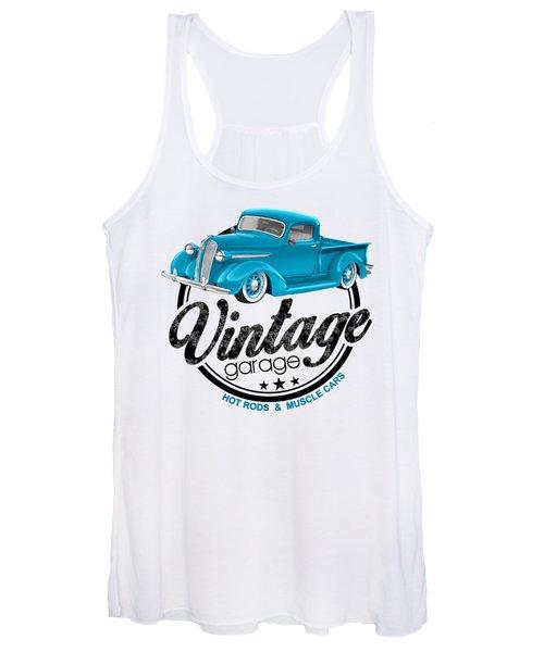 Vintage Garage Plymouth Women's Tank Top