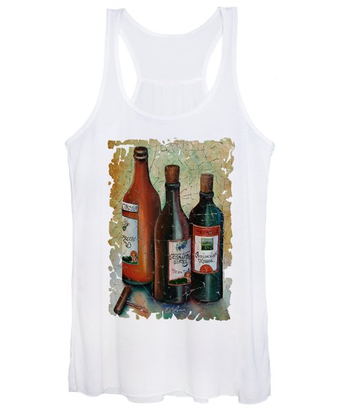 Vintage Georgian Wine Fresco Women's Tank Top
