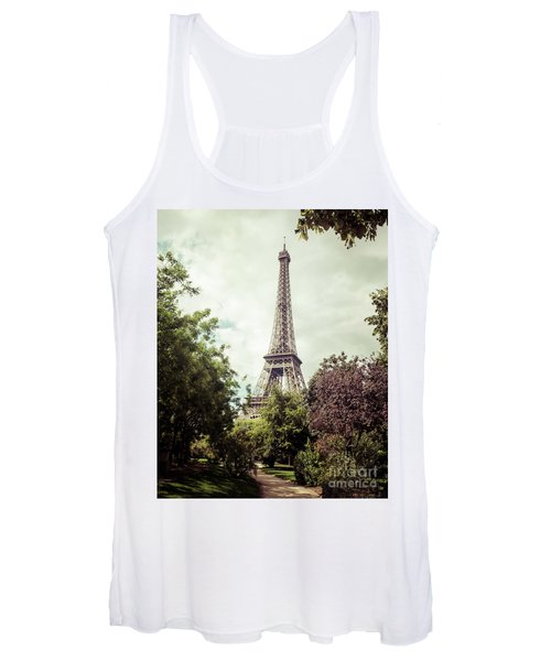 Vintage Paris Women's Tank Top