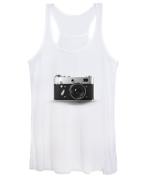 Vintage Rangefinder Camera Tee Women's Tank Top