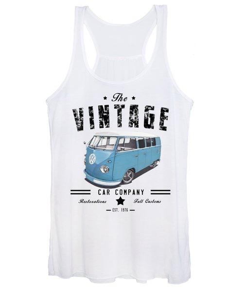 Vintage Transportation Women's Tank Top