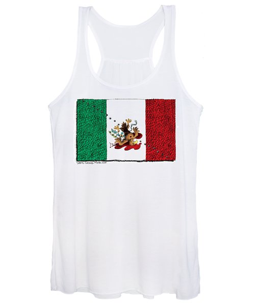 Violence In Mexico Women's Tank Top