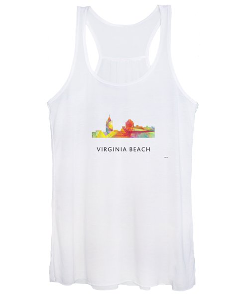 Virginia Beach  Virginia Skyline Women's Tank Top