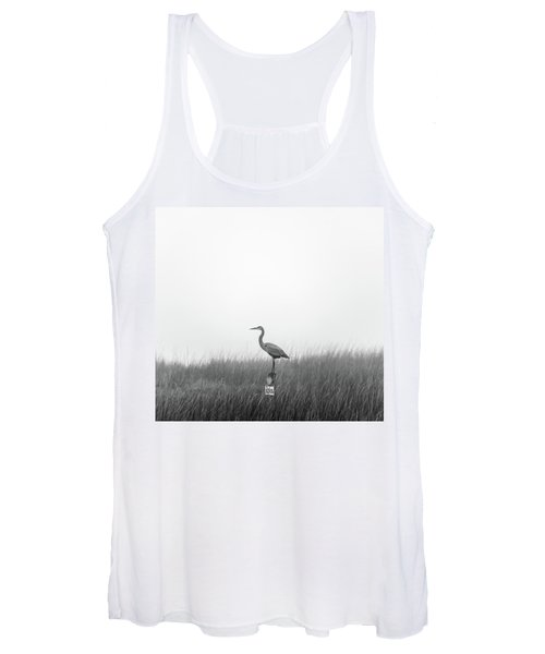 Waiting On The Fog To Clear Women's Tank Top
