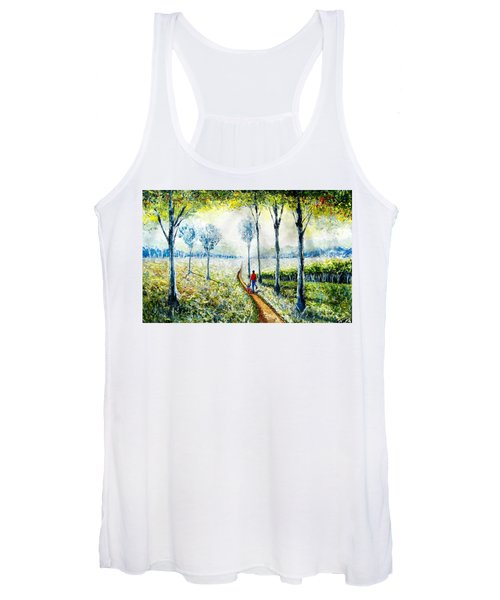 Walk Into The World Women's Tank Top