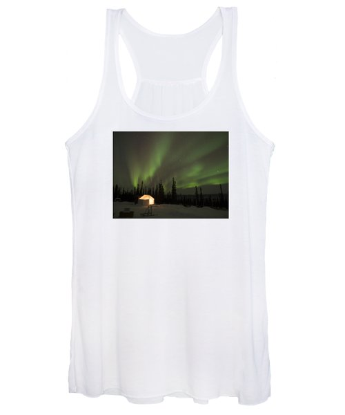Wall Tents And Aurora Women's Tank Top