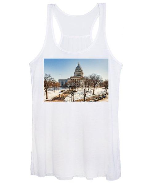 Warm Winter Capitol Women's Tank Top