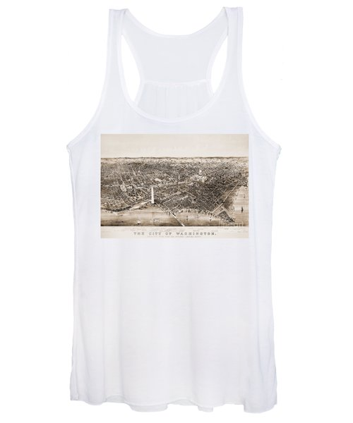 Washington D.c., 1892 Women's Tank Top