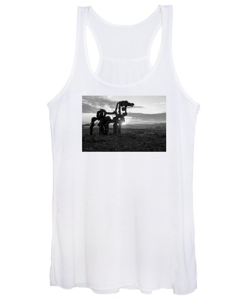 Watchful The Iron Horse  Women's Tank Top