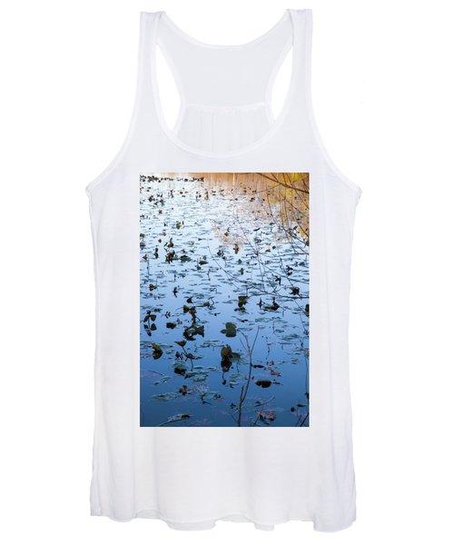 Water Lilies Autumn Song Women's Tank Top
