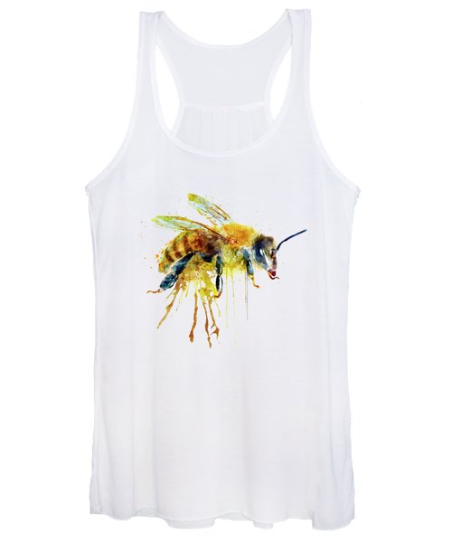 Watercolor Bee Women's Tank Top