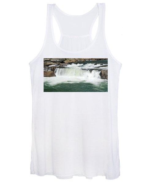 Waterfall At Ohiopyle State Park Women's Tank Top