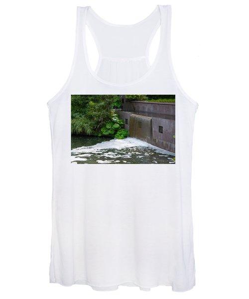 Waterfall - Longwood Gardens Women's Tank Top