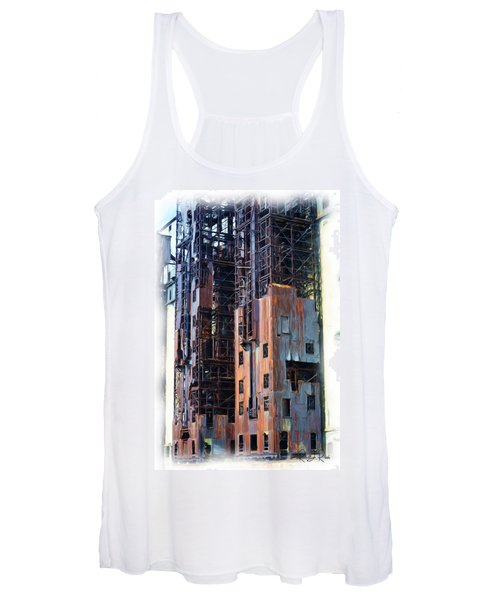 Waterfront Decay One Women's Tank Top