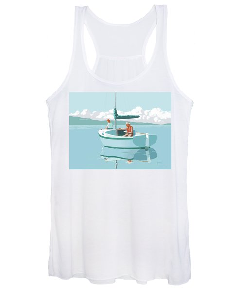 Wating For The Wind Women's Tank Top