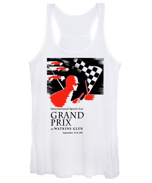 Watkins Glen Grand Prix 1951 Women's Tank Top