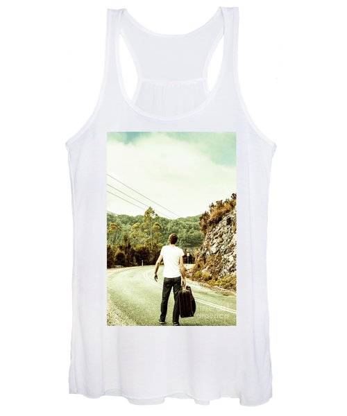 Way Of Old Travel Women's Tank Top