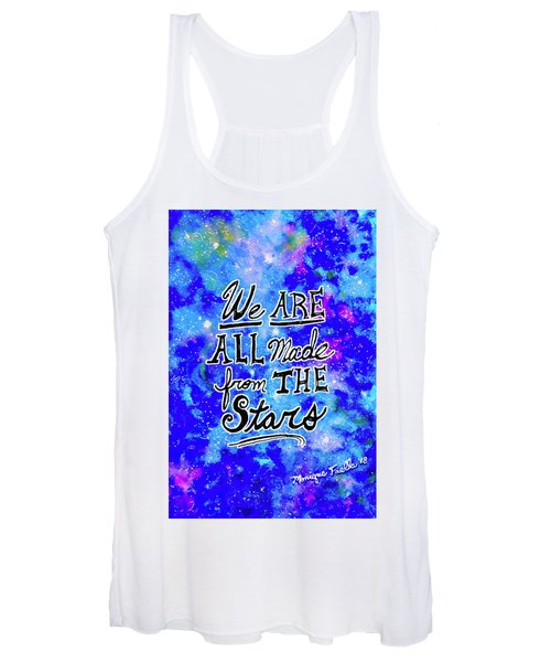 We Are All Made From The Stars Women's Tank Top